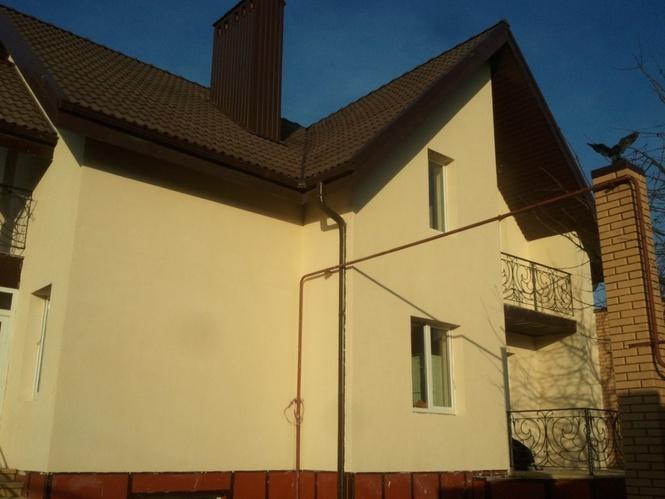 Как покрыть дом шубой